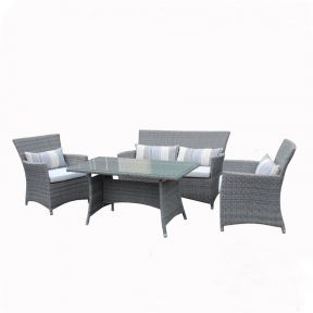 FP Collection Rivera Outdoor Lounge/Dining Setting