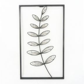 FP Collection Botanical Metal Wall Art