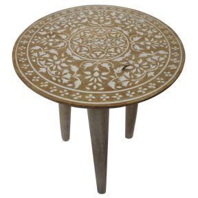 FP Collection Indoor Lagos Side Table