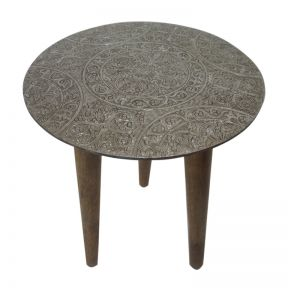 FP Collection Indoor Cairo Side Table