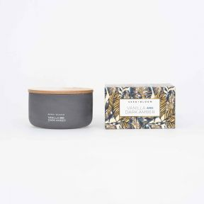 FP Collection Seed+Bloom Vanilla & Dark Amber Candle