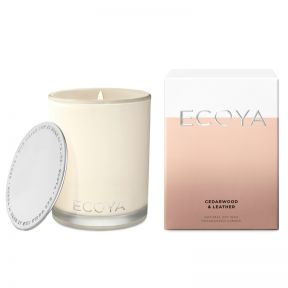 Ecoya cedarwood & Leather Madison Jar