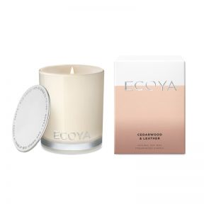 Ecoya cedarwood & Leather Mini Madison Jar