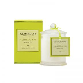 Glasshouse Montego Bay Coconut Lime 60g Candle