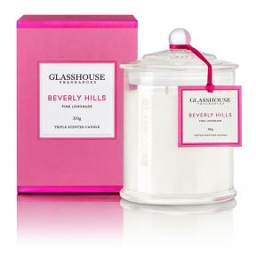 Glasshouse Beverly Hills Pink Lemonade 350g Candle