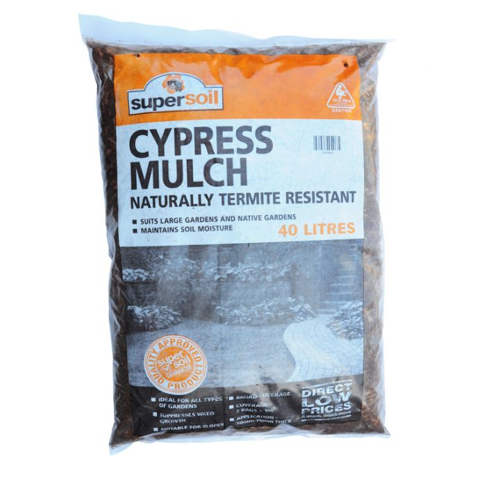 Cypress Mulch Bag  No] 117237 - Flower Power