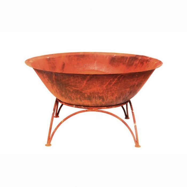 FP Collection Evoke Fire Pot Antique Rust  No] 162854 - Flower Power