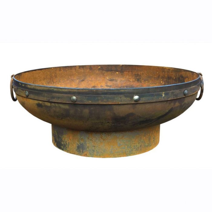 FP Collection Glow Fire Pit Antique Rust  No] 167841 - Flower Power