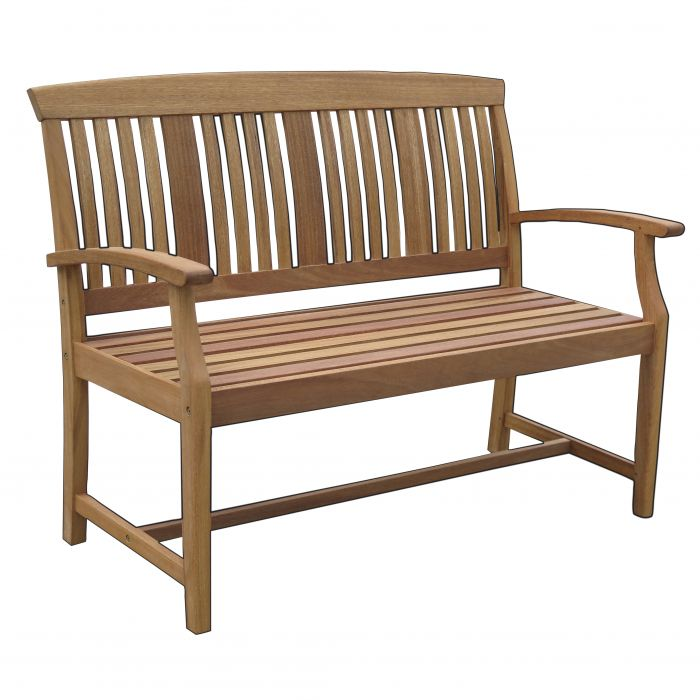 FP Collection Bronte Outdoor Timber Bench  No] 169537 - Flower Power