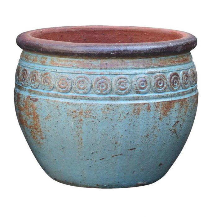 FP Collection Udgir Round Pot With Lip color No 169650P