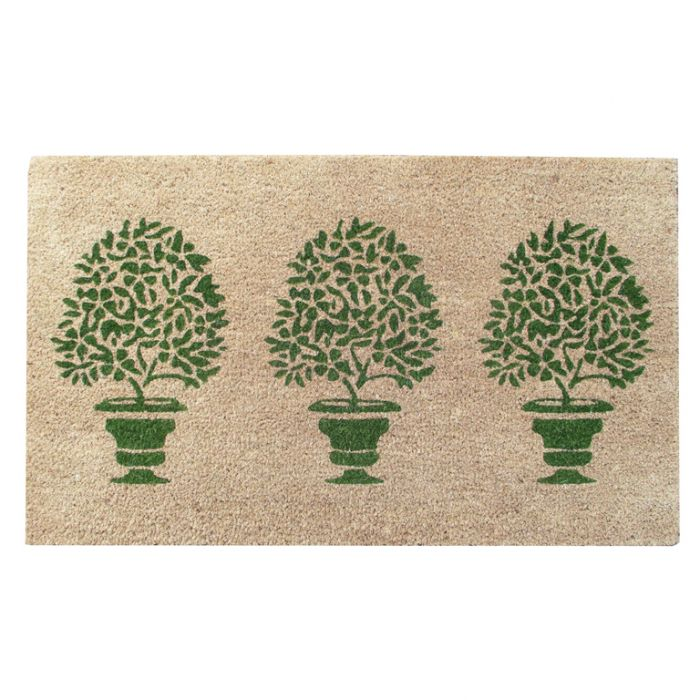 FP Collection Door Mat Topiary color No 172745