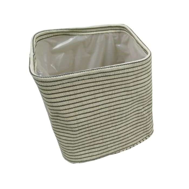 FP Collection Stripe Planter Basket  No] 174228P - Flower Power
