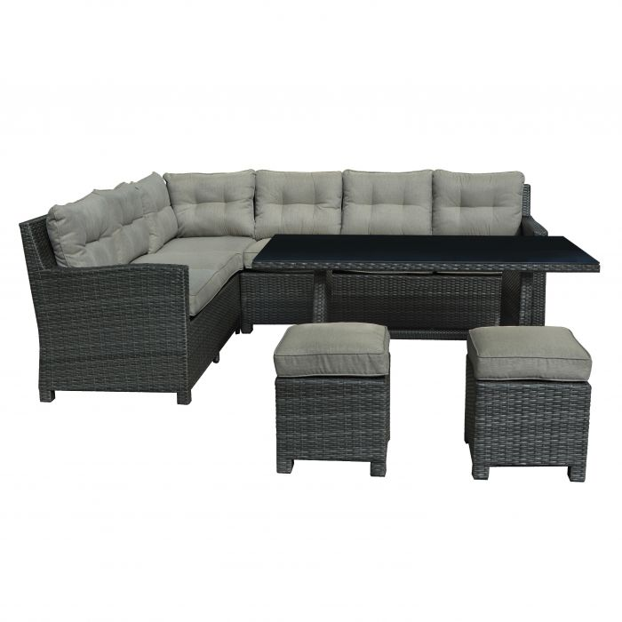 FP Collection Newport Outdoor Lounge/Dining Setting color No 174390