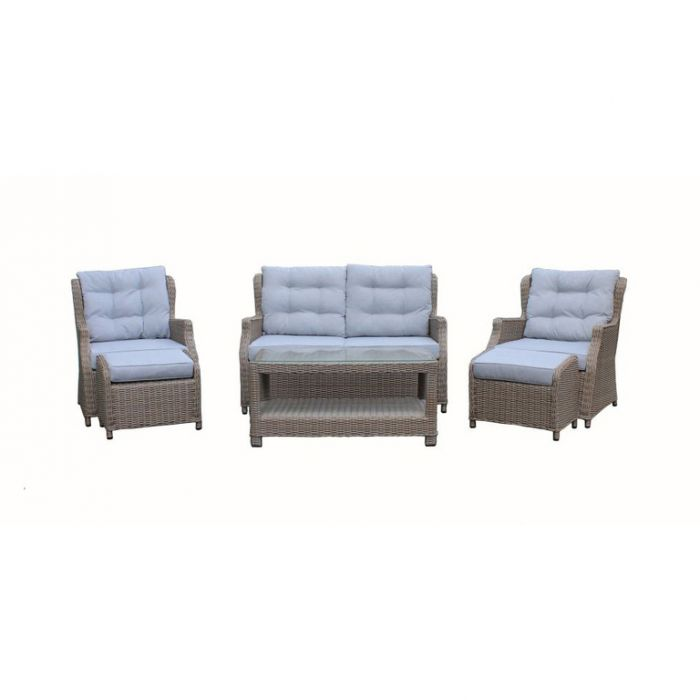 FP Collection Harrington Outdoor 4 Seater Lounge Setting color No 174703