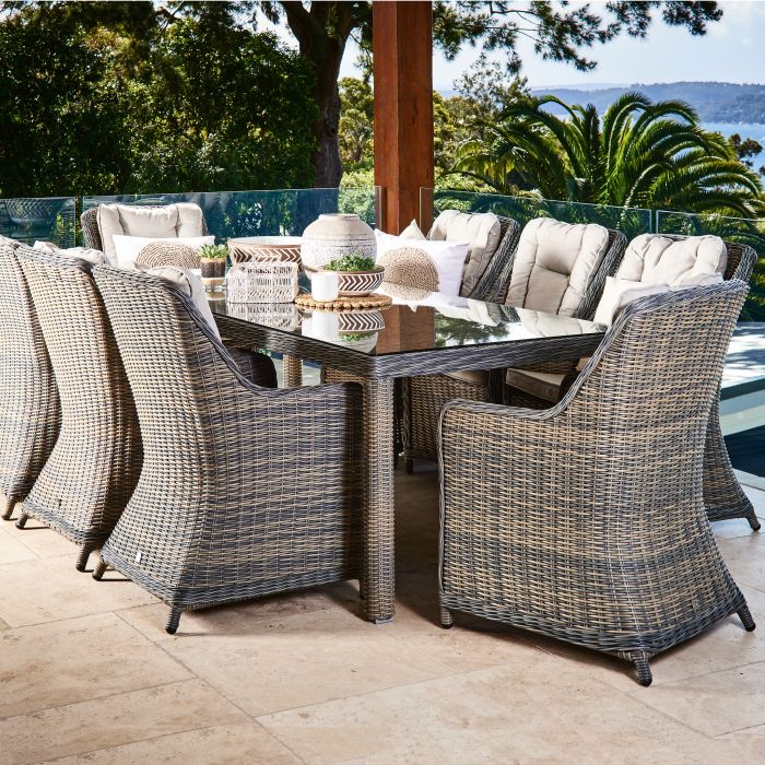 FP Collection Sommerset Outdoor Dining Setting  No] 175032 - Flower Power