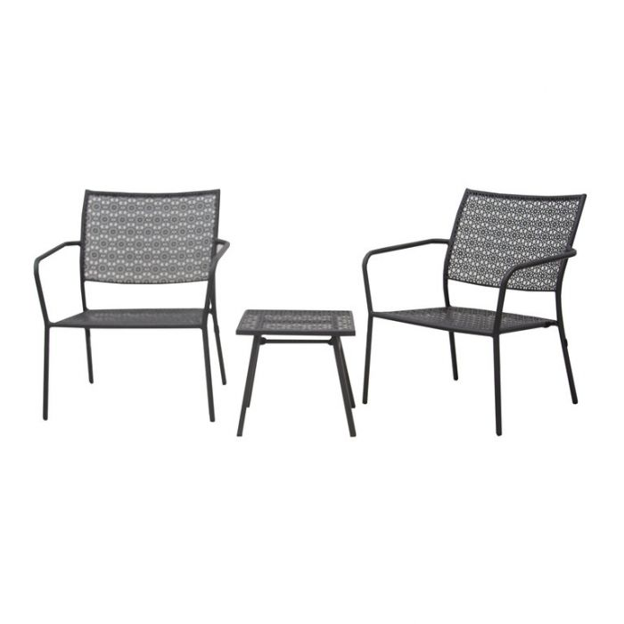 FP Collection Alfresco Outdoor 2 Seater Balcony Setting  No] 175141 - Flower Power