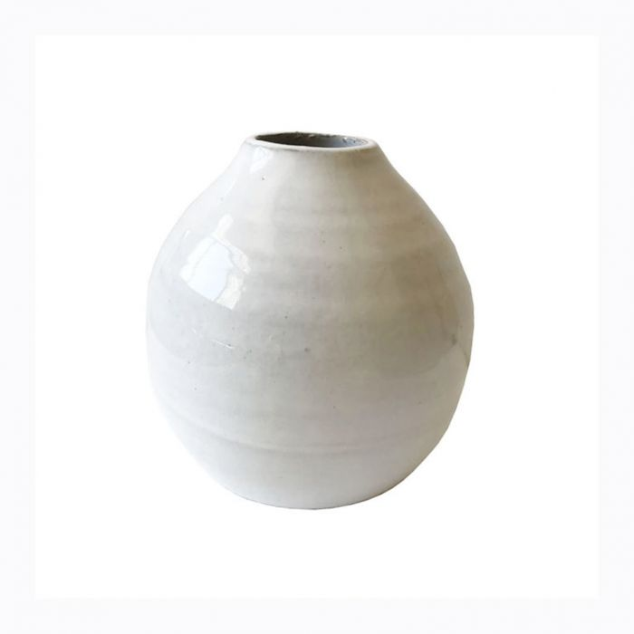 FP Collection Alabaster Vase Squat color No 175470P