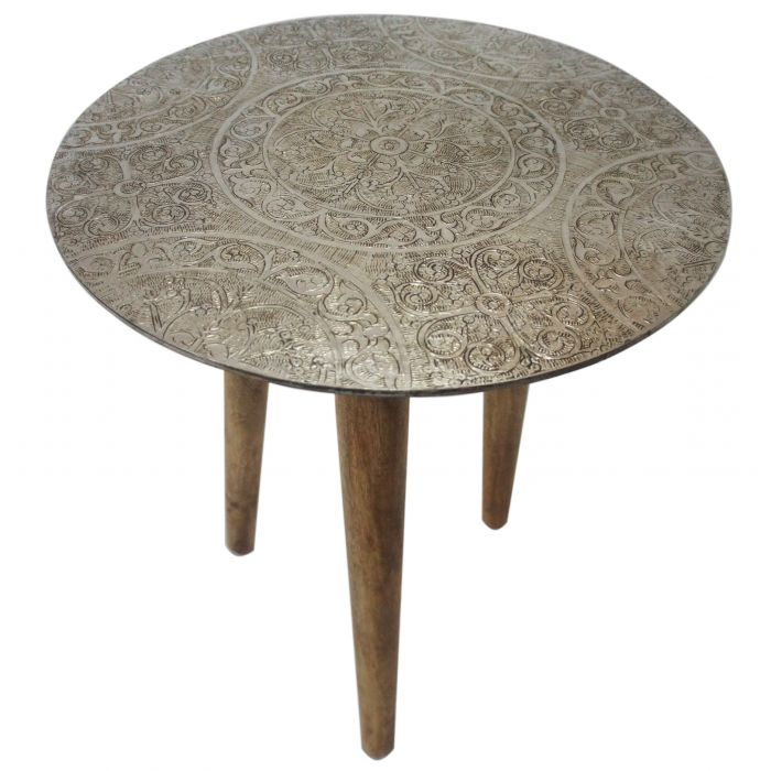 FP Collection Indoor Cairo Side Table  No] 176530 - Flower Power