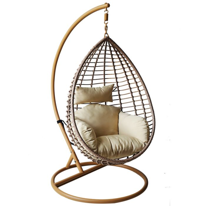 FP Collection Burleigh Outdoor Hanging Chair color No 178711