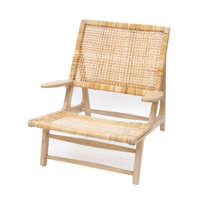FP Collection Bangalow Cane Occasional Chair  No] 179995 - Flower Power