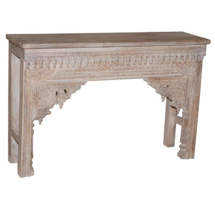 FP Collection Indira Carved Sideboard  No] 180117 - Flower Power