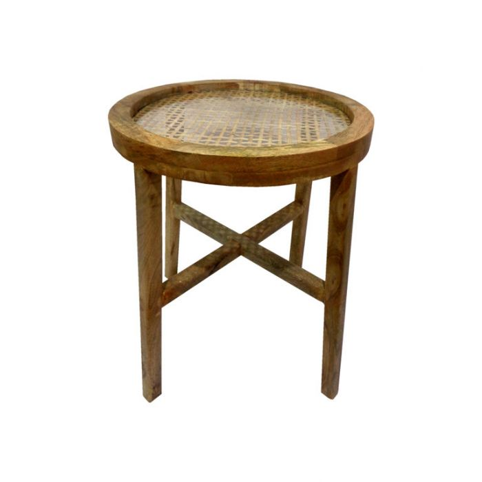 FP Collection Bangalow Rattan Side Table  No] 180132P - Flower Power