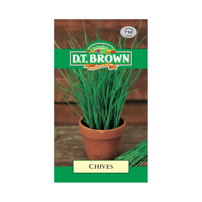 D.T. Brown Chives  No] 5030075027058 - Flower Power