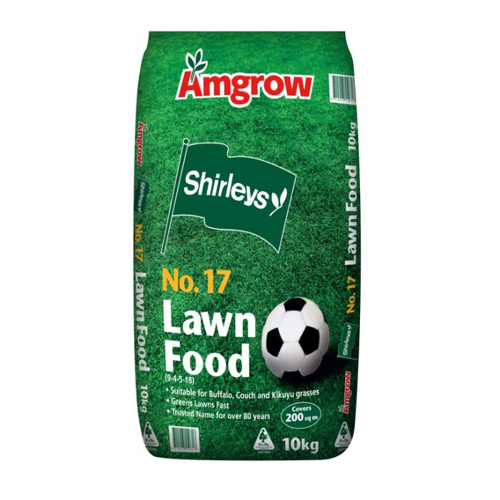 Amgrow Shirleys No.17 Lawn Food 10kg  No] 9310943550717 - Flower Power