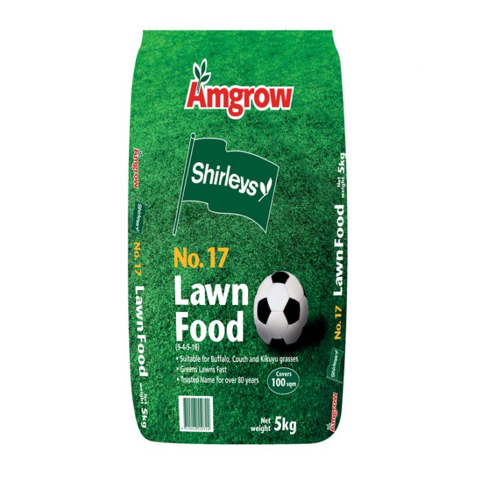 Amgrow Shirleys No.17 Lawn Food 5kg  No] 9310943550724 - Flower Power