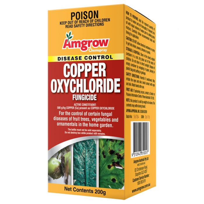Amgrow Copper Oxychloride Fungicide  No] 9310943810057 - Flower Power