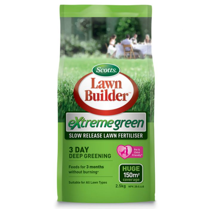 Lawn Builder  Extreme Green Lawn Fertiliser 2.5kg  No] 9311105005878 - Flower Power