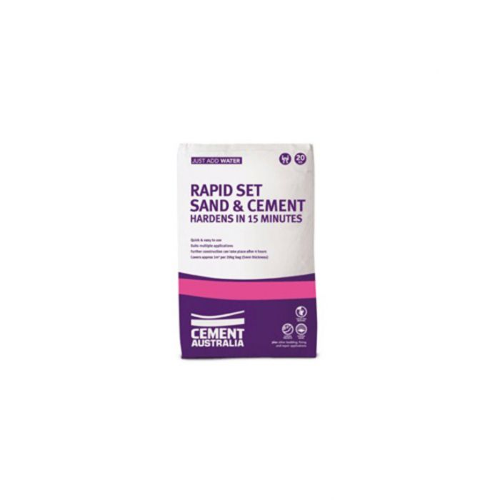 Rapid Set Sand and Cement 20kg  No] 9311808033321 - Flower Power