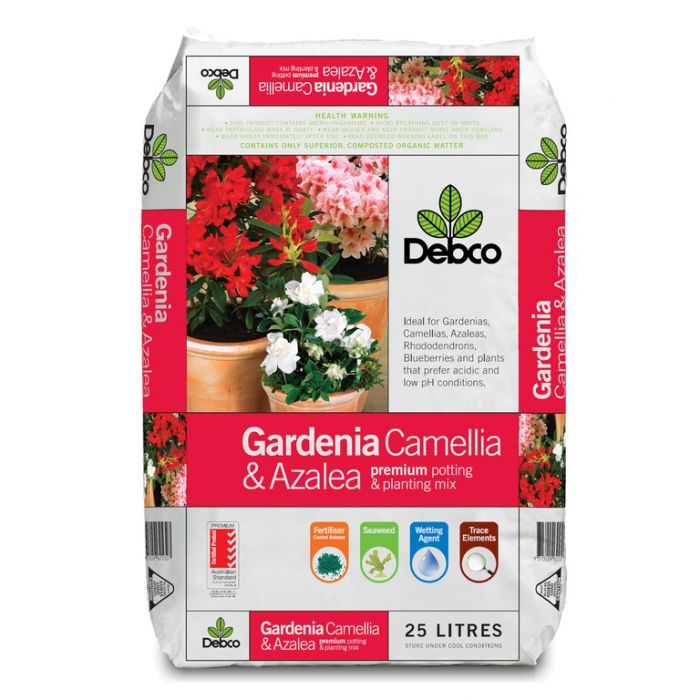 Debco Gardenia Camellia & Azalea Premium Potting & Planting Mix  No] 9313209625112 - Flower Power