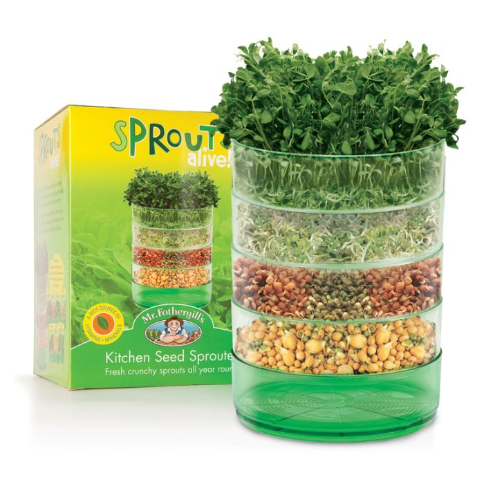 Mr Fothergill's Sprouts Alive - Sprouter - Kitchen Seed Sprouter  No] 9324190014038 - Flower Power