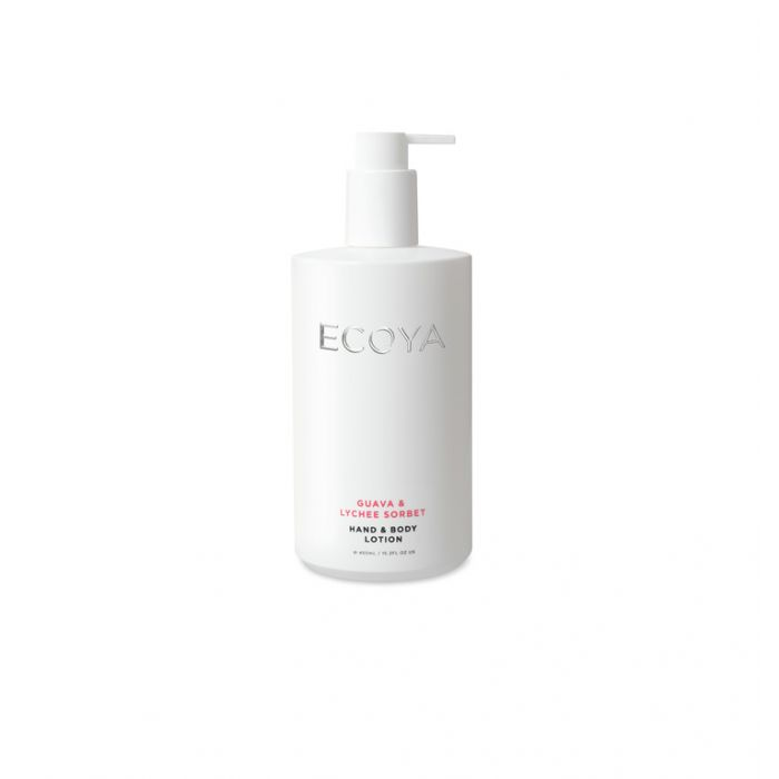Ecoya Guava & Lychee Sorbet Hand & Body Lotion color No 9336022009846
