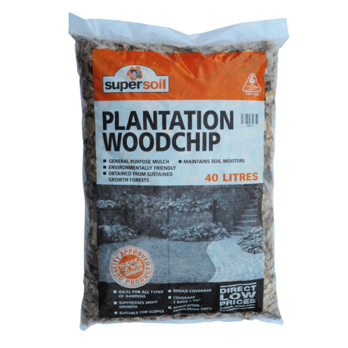 Woodchip Bag  ] 108720 - Flower Power