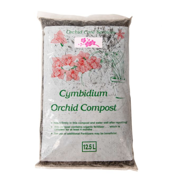 Orchid Care Cymbidium Orchid Compost Size 2  ] 111320 - Flower Power