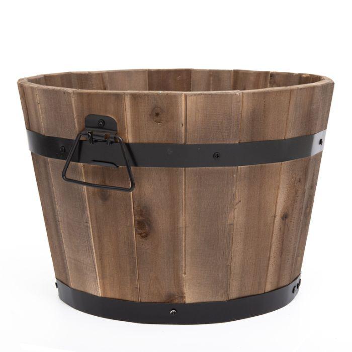 Wine Barrel Round  ] 149472P - Flower Power