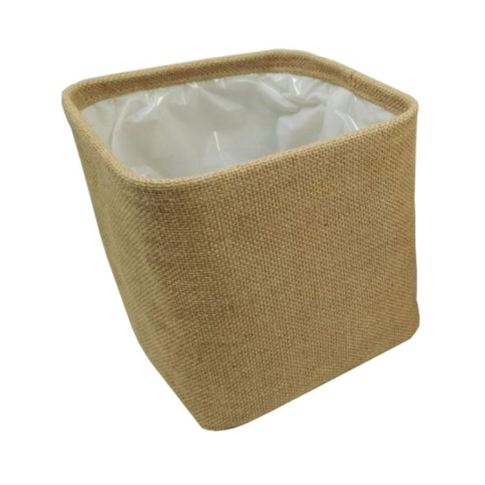 FP Collection Hessian Planter Basket  ] 174239P - Flower Power