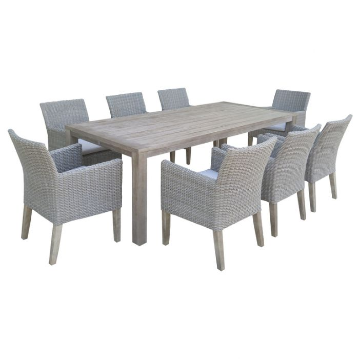 FP Collection Dune Outdoor Dining Chair Grey  ] 175012 - Flower Power