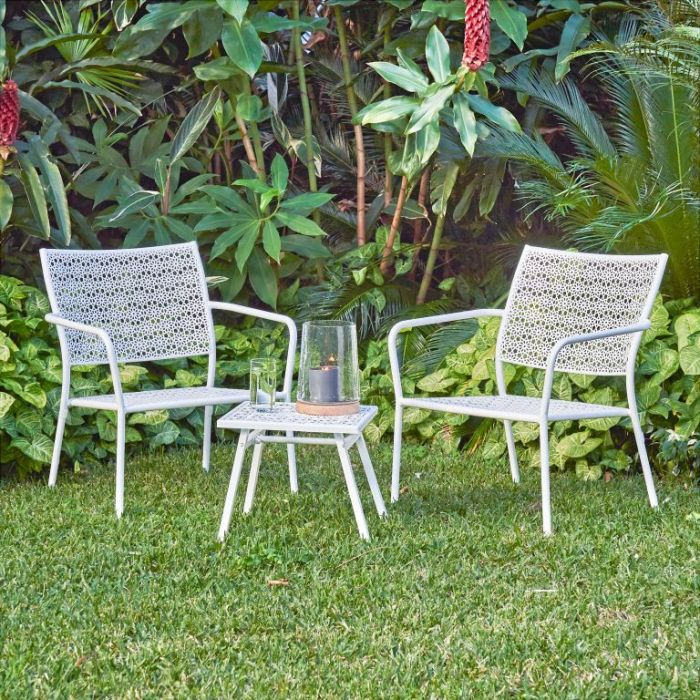 FP Collection Alfresco Outdoor 2 Seater Balcony Setting  ] 175140 - Flower Power