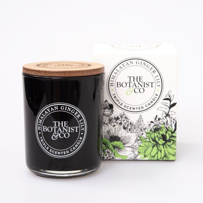 The Botanist & Co Himalayan Ginger Lily Candle  ] 175405P - Flower Power