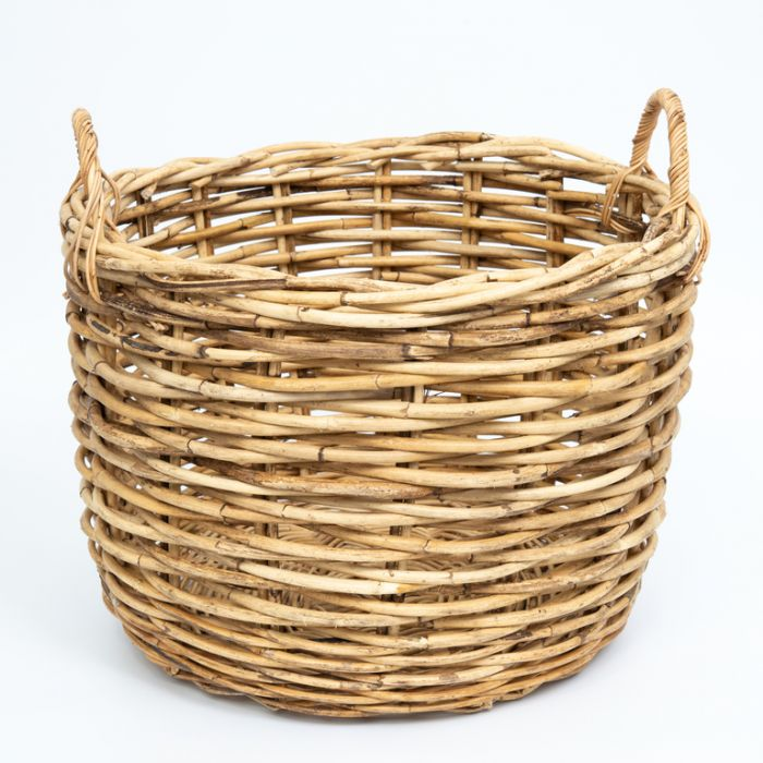 FP Collection Cottage Rattan Storage Basket  ] 177864P - Flower Power