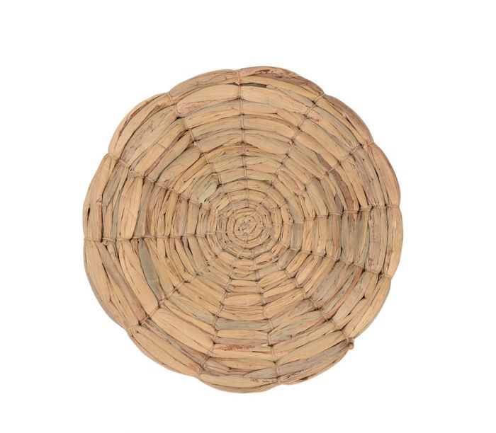 FP Collection Water Hyacinth Round Placemat  ] 178018 - Flower Power