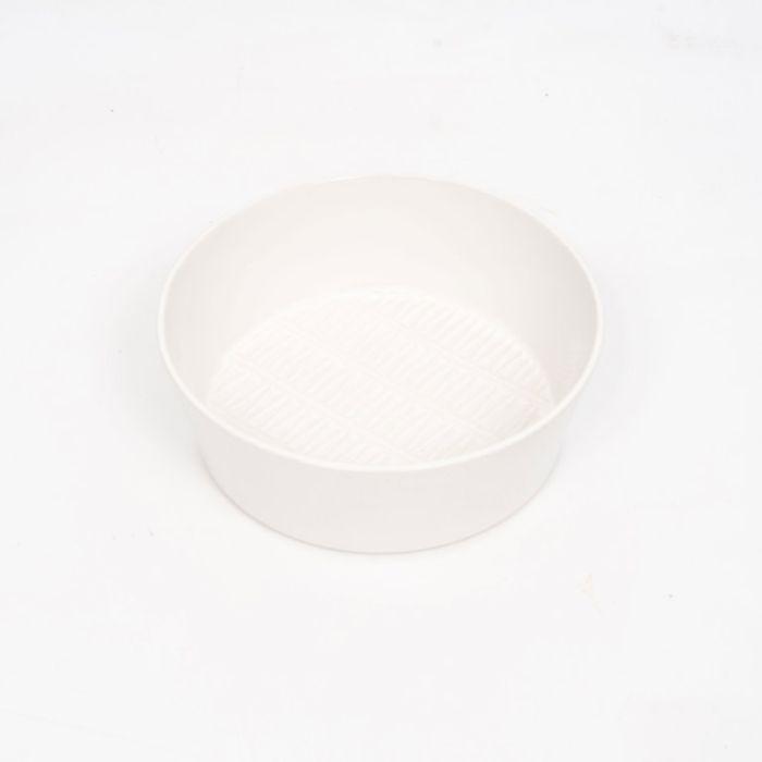 FP Collection Chevron Salad Bowl White  ] 178461P - Flower Power