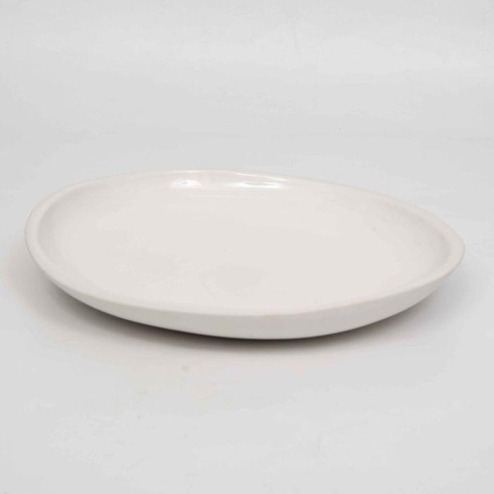 FP Collection White Sand Platter  ] 178482P - Flower Power