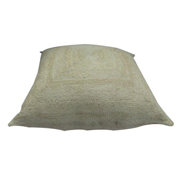 FP Collection Quinn Jute Floor Cushion  ] 179922 - Flower Power