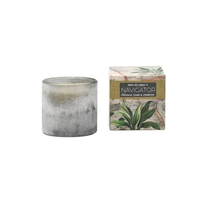 FP Collection South Sea Candle Co Navigator Seaglass Candle  ] 180302 - Flower Power