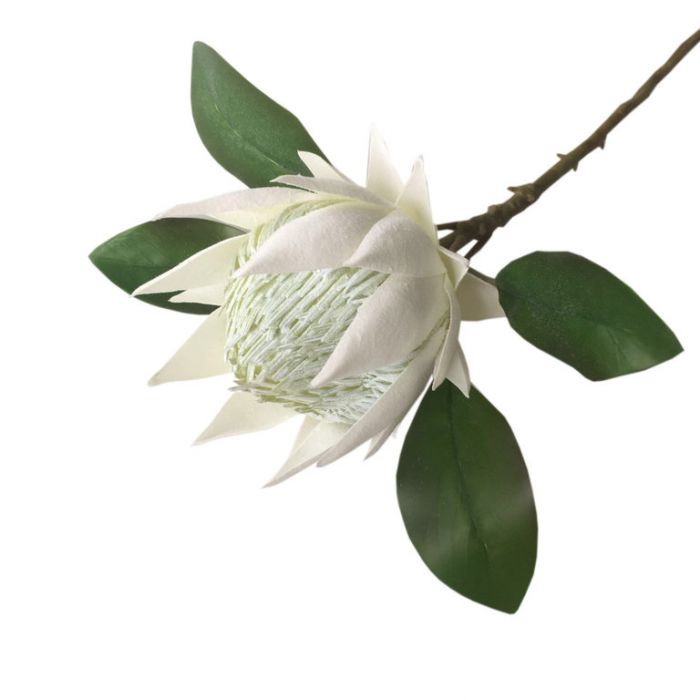 FP Collection Artificial King Protea White  ] 182689 - Flower Power