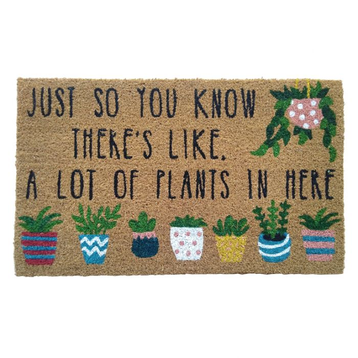 FP Collection Doormat There's Like A Lot of Plants in Here  ] 182979 - Flower Power
